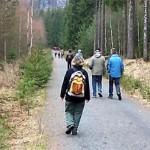 Wanderautobahn im Bielatal