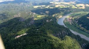 Blick über die Bastei