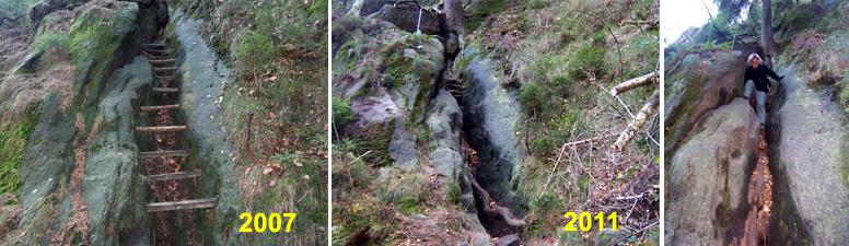 Wolfsstiege - Steilstück