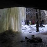 Steinbruchwasserfall