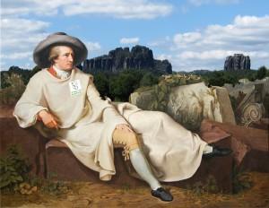 Johann-Wanderfreund Goethe