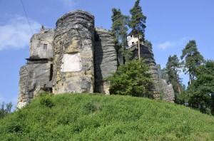 Einsiedlerstein in Bürgstein