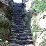 Treppe Großvaterstuhl