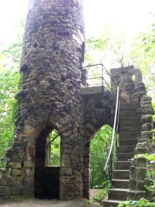 An der Burgruine Bad Schandau