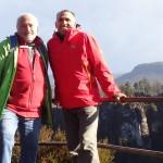 Liver und Bernd an der Pavillon-Aussicht