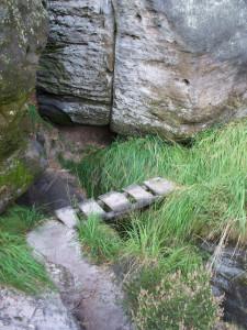 Kleine Brücke am UTW (zwischen Heiliger und Rotkehlchenstiege)