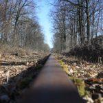 Wandern auf Schienen